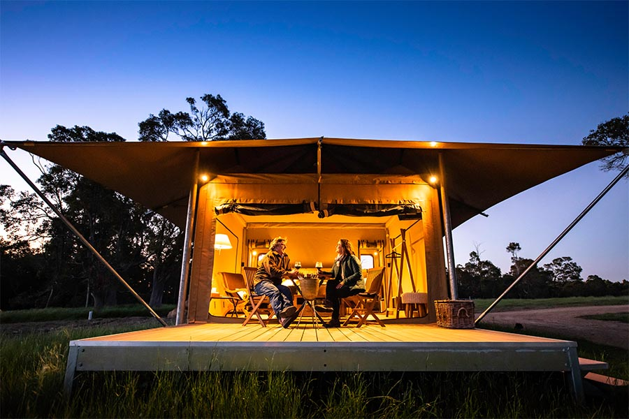 Glamping in Margaret River